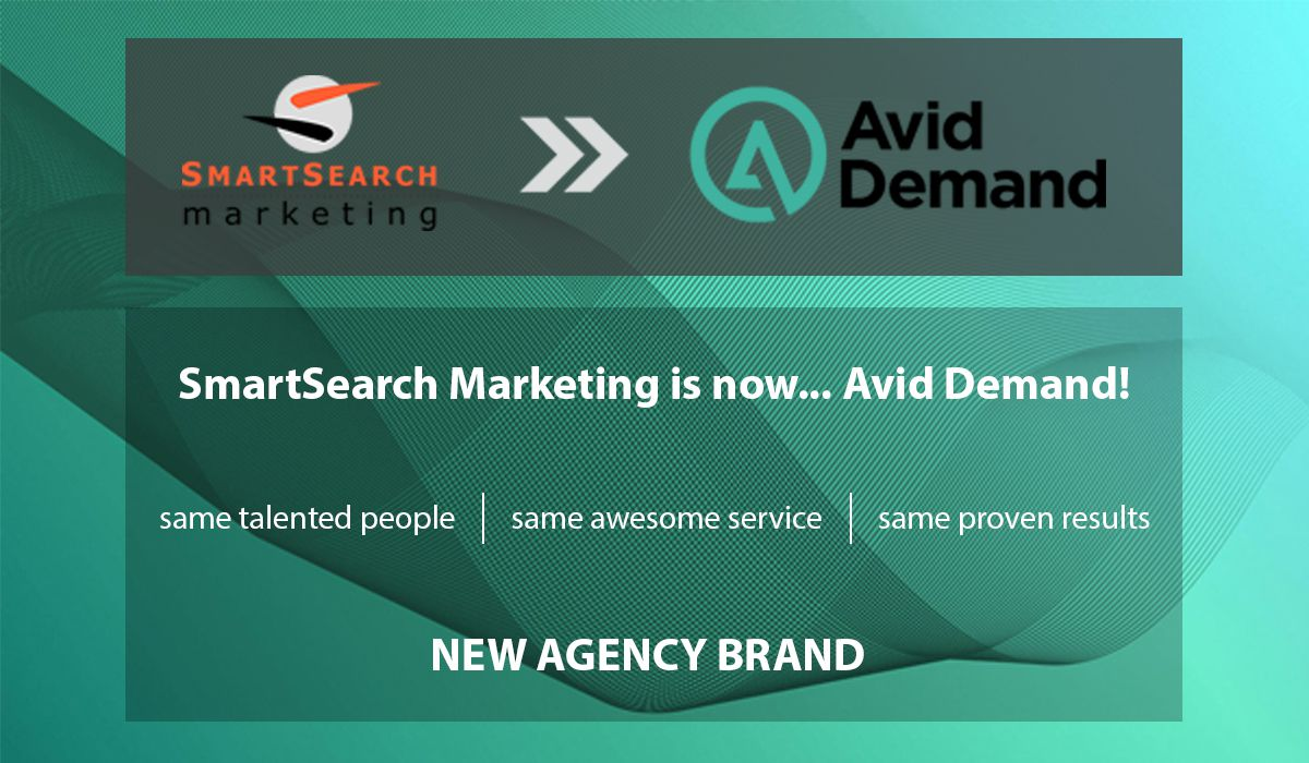 SmartSearch Marketing is now Avid Demand